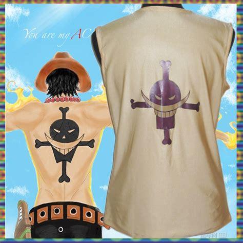 T Shirt Kaos Portgas D Ace One New Fullprint Putih Kd Cwm 139 achetez en gros one ace en ligne 224 des