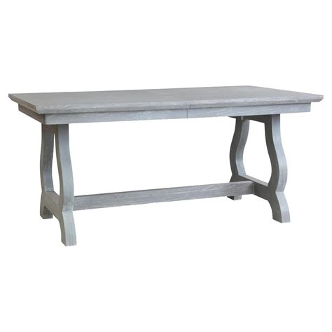 potter modern classic grey farmhouse adjustable dining