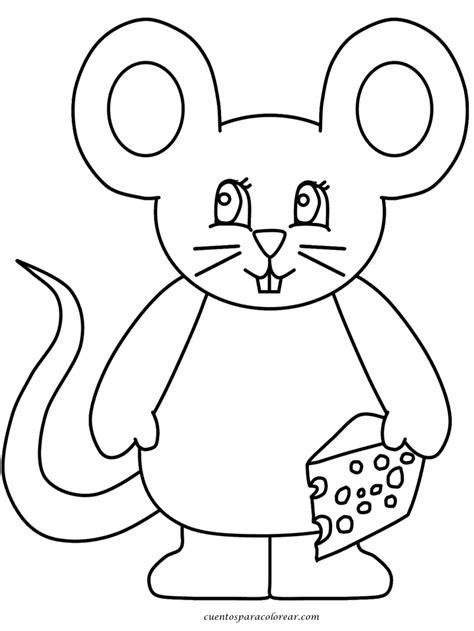 imagenes infantiles ratones dibujos para colorear ratones