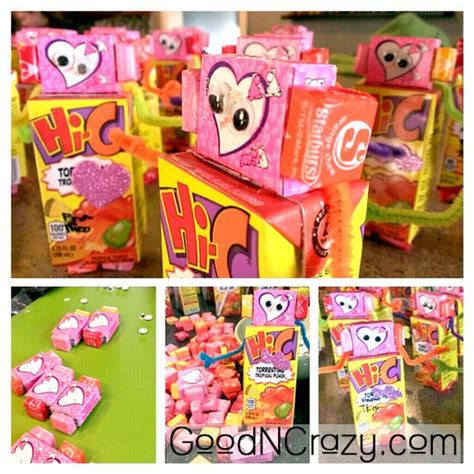 valentines gifts for children robot diy gift idea easy but not cheap