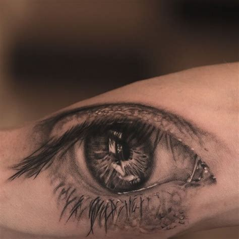 top 10 realistic eye tattoos