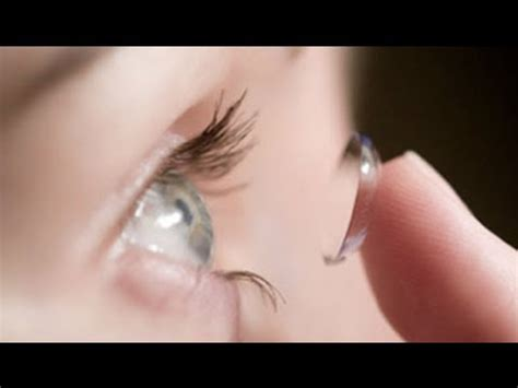 Putting In And Removing Contact Lenses by How To Apply Contact Lenses