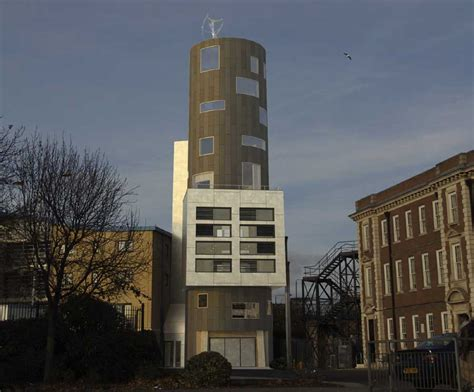 london water tower house e architect