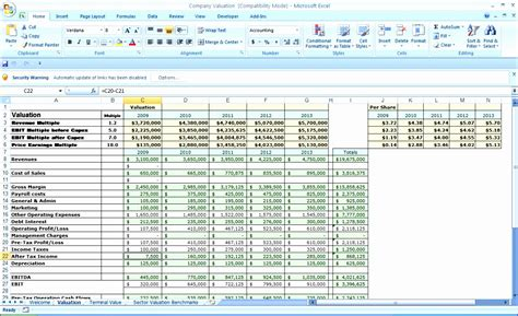 8 5 Year Business Plan Template Excel Exceltemplates Exceltemplates 5 Year Business Plan Template