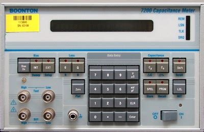 capacitance meter boonton used boonton 7200 price buy purchase sale sell rental