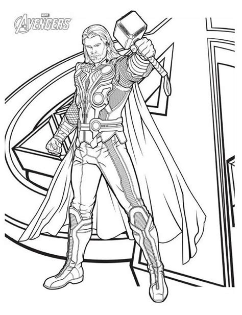 marvel movie coloring pages thor coloring pages to print the avengers avengers