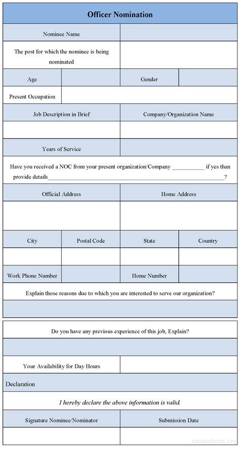 employee recognition nomination form template employee recognition nomination form template quotes quotes