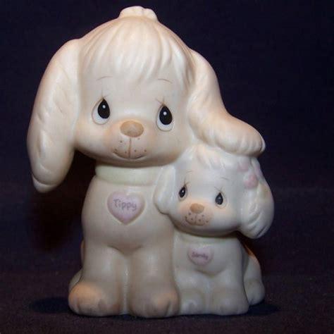 precious moments puppy precious moments 1988 puppy figurine w tippy