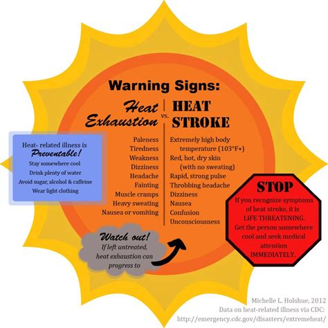 symptoms of a light stroke signs of heat illness and methods to help stay cool