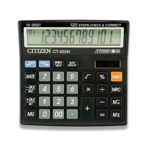 Kalkulator Citizen Ct 555n212 stoln 237 kalkul 225 tor citizen ct 555n