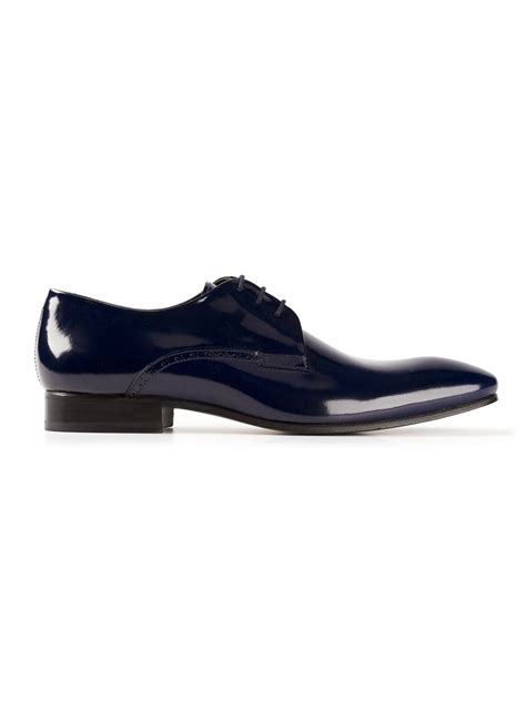 kenzo shoes kenzo derby shoes in blue for lyst