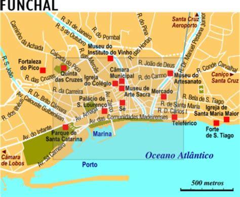 0004488997 carte touristique madeira en funchal tourisme voyages cartes