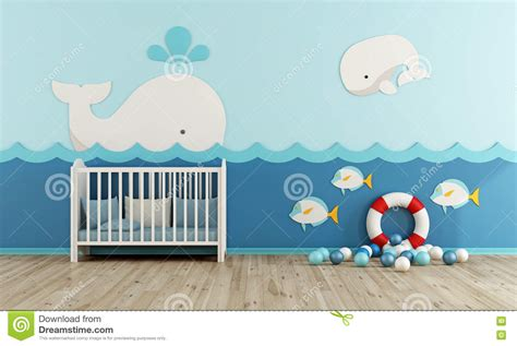 baby room clipart baby room in marine style stock illustration image 78254806