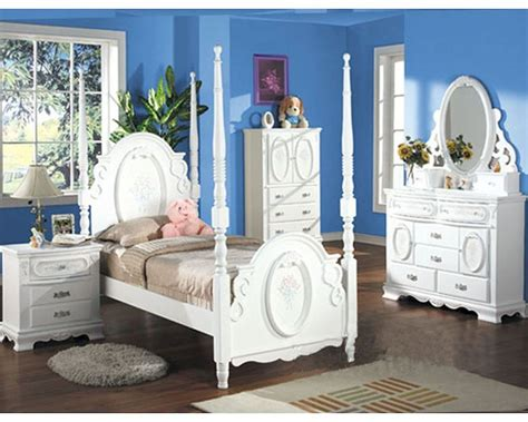 Acme Furniture Bedroom Set In White Ac01660tset Acme Bedroom Furniture