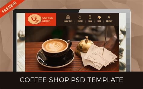 Top 10 Web Design Freebies You Ll Love Designer Mag Coffee Shop Template