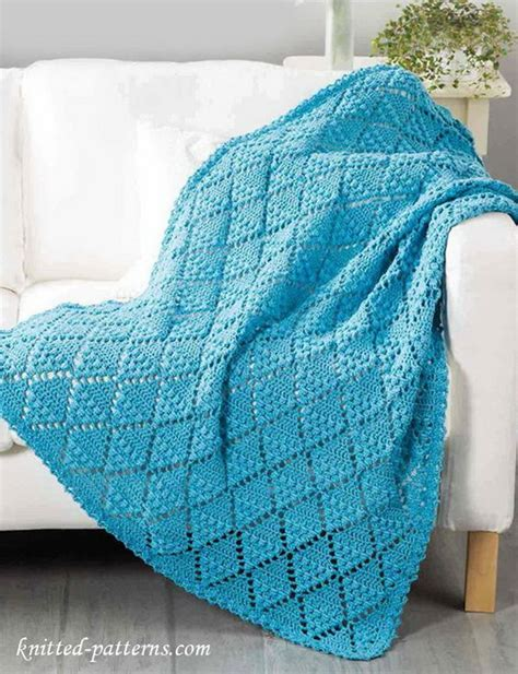 Crochet Patterns Crochet Blanket Pattern Tutorial 20 awesome crochet blankets with tutorials and patterns