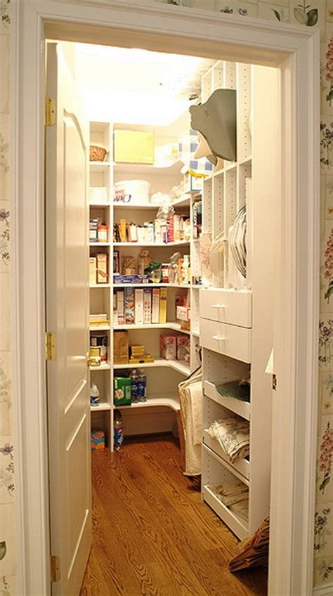 Large Pantry Ideas by Kitchen Layouts With Walk In Pantry Studio Design
