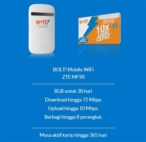 Isi Ulang Wifi Bolt bolt zte mf90 mobile hotspot wifi 4g lte 72 mbps