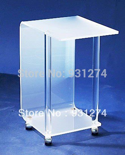 acrylic side table with wheels acrylic night stands with four wheel lucite coffee table