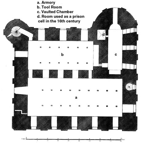 white tower floor plan medieval london architecture of the white tower