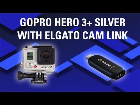 use gopro as webcam: gopro hero 3+ silver quality sample
