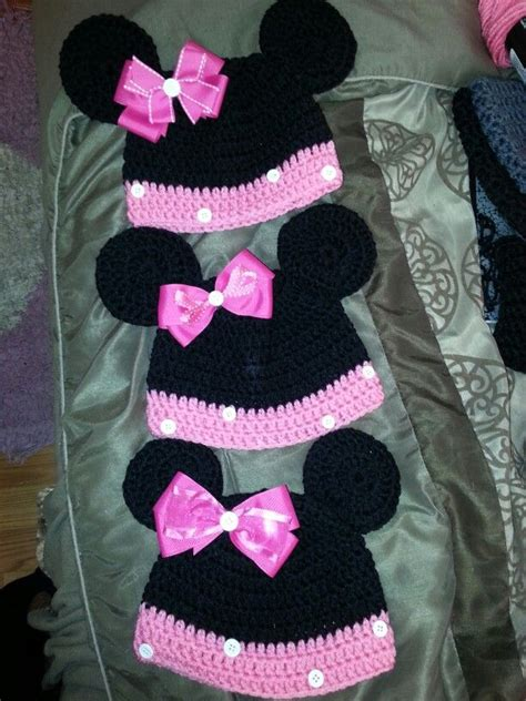 minnie mouse doll knitting pattern minnie mouse knit hat pattern studio design gallery