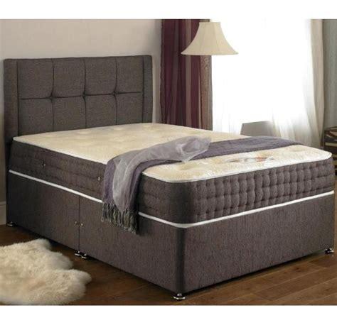 2 single beds dunlopillo twin divan single beds can be single twin memory pocket sprung divan 3ft