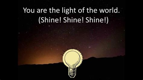 You Are The Light Of by