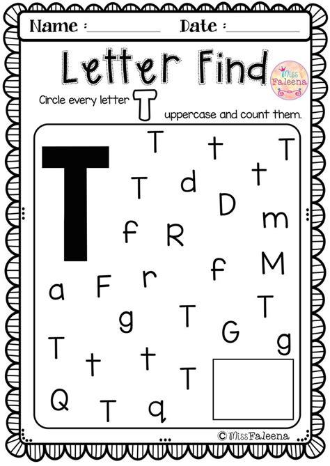 Letter T Preschool