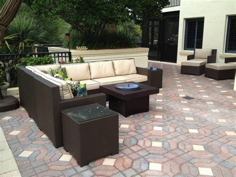gas pit outdoor furniture outdoor furniture set with gas pit