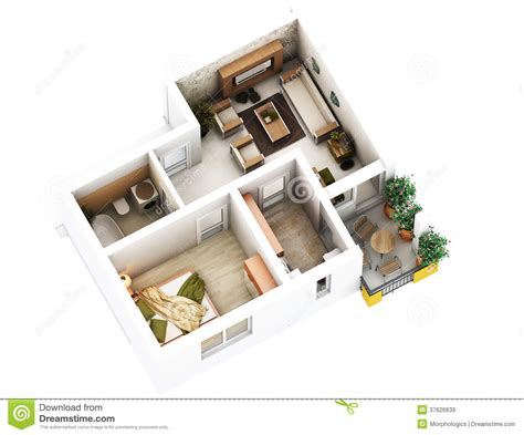 Free Garage Design Software 3d floor plan stock illustration image of hall bathroom