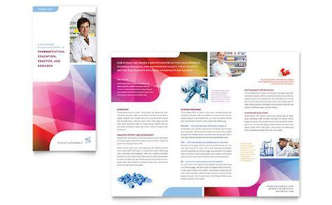 microsoft office tri fold brochure template pharmaceuticals tri fold brochure templates word