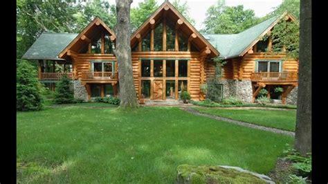 sale beautiful log cabin located  deer lake ohiopyle pa youtube