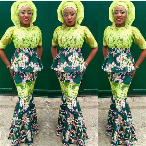 ovation latest ankara and lace style 2016 beautiful ankara lace styles for wedding guest
