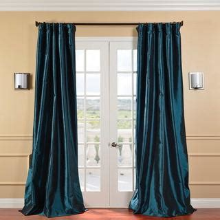 peacock blue curtains drapes peacock vintage120 inch faux dupioni silk curtain panel