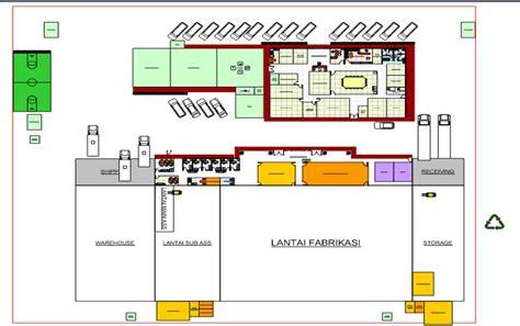 contoh layout pabrik makanan perancangan tata letak pabrik industrial engineering