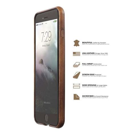 Nomad Wallet Card For Iphone X nomad horween leather iphone 7 with card slots for 7 7 plus gadgetsin