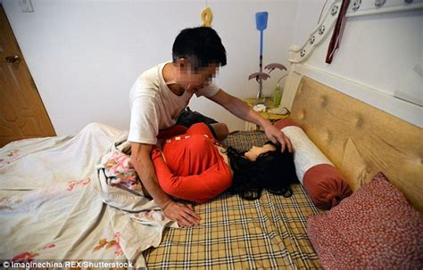 a doll s house wife chinese widower spent 163 1 800 on a sex doll after his wife died from cancer daily mail online
