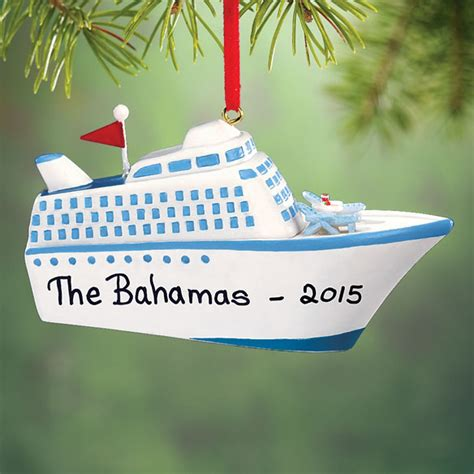 cruise ship ornament personalized cruise ship ornament kimball