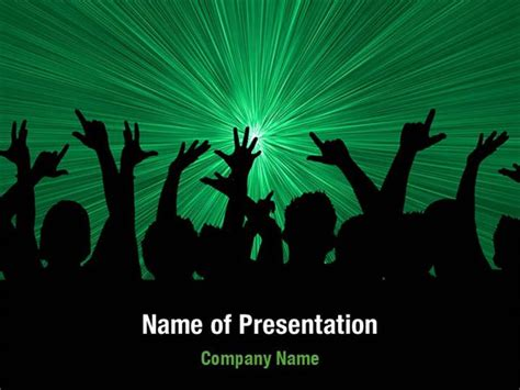rock powerpoint themes crowd powerpoint templates crowd powerpoint backgrounds