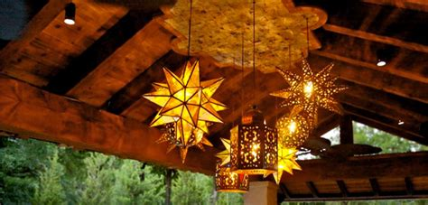 Mexican Patio Lights by Outdoor Hanging Ls Wrought Iron Outdoor Light Fixtures