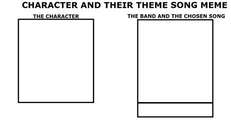 Theme Meme - theme song meme template by wolfblade111 on deviantart