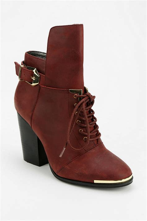outfitters boots outfitters grey city laceup ankle boot in brown