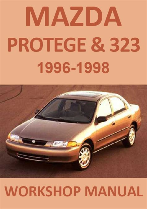 car repair manuals online pdf 1992 mazda 323 engine control mazda 323 protege 1996 1998 workshop repair manual