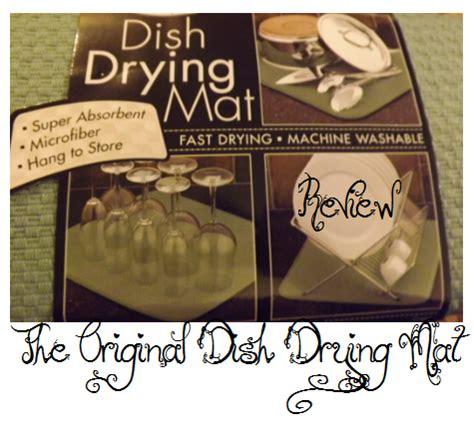 according to greenvics the orginal dish drying mat