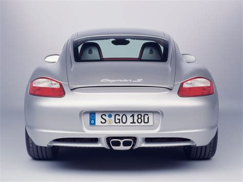 Porsche Cayman Back View Wallpapers And Images