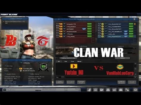 buat clan pb garena gratis clan war point blank garena indonesia youtube ind vs
