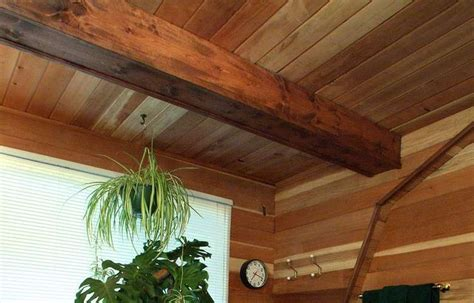 Wood Ceiling Paneling by Wood Ceiling Ideas Redwood Paneling Bath Ceiling