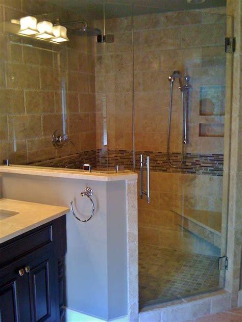 master bathroom chiseled travertine shower http master bathroom re design shower has 6x12 chiseled edge