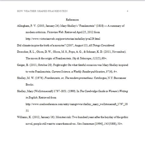 creating an apa references page evidence based nursing